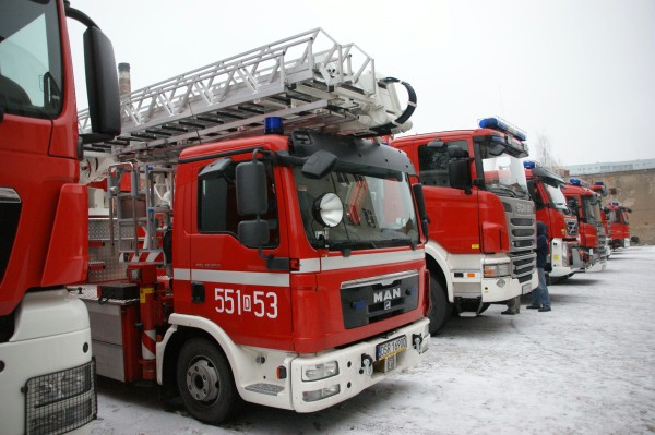 Interwencje Straży Pożarnej Przasnysz od 18 do 24 lutego 2015 r.