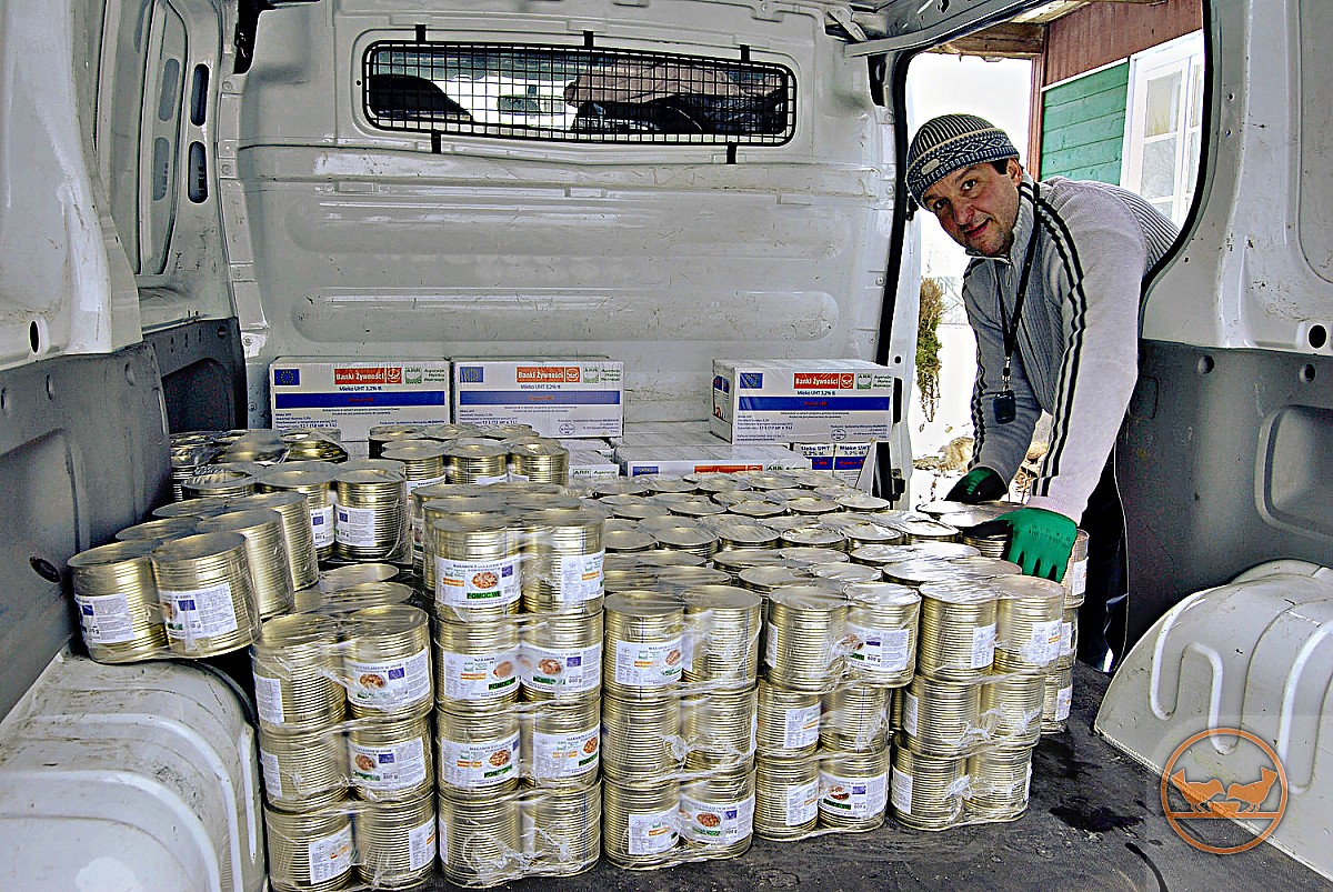 MOPS Przasnysz: Ogłoszenie o wydawaniu żywności