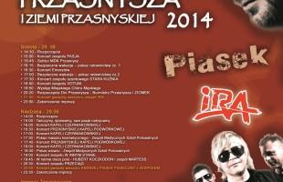 Dni Przasnysza 2014 - program