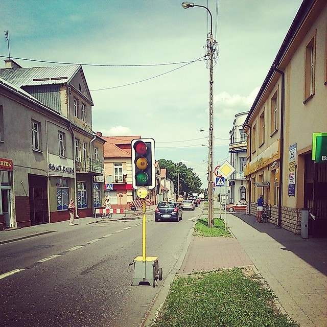 Uwaga! Utrudnienia w ruchu na ulicy Świętego Stanisława Kostki w Przasnysz