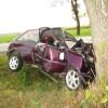 Wypadek w Mchowie - zdjęcia