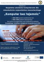 Szkolenia komputerowe dla mieszkańców Mazowsza