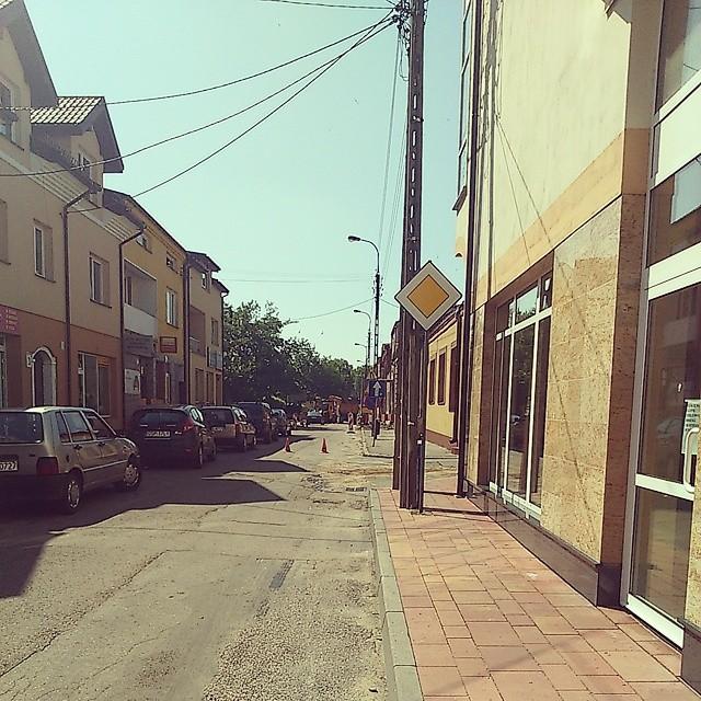 Uwaga! Dziś utrudnienia na ul. Warszawskiej w Przasnyszu.