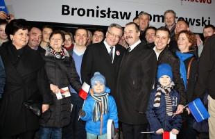 Wizyta Prezydenta RP Bronisława Komorowskiego w Przasnyszu - zdjęcia