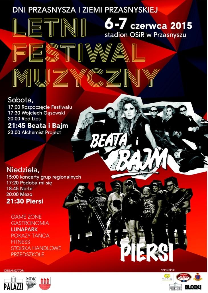 Dni Przasnysza i Ziemi Przasnyskiej - Letni Festiwal Muzyczny