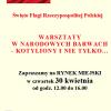 Biblioteka Pedagogiczna i Miejska Biblioteka Publiczna w Przasnyszu zapraszają na warsztaty