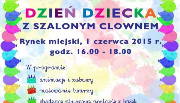 Burmistrz Przasnysza zaprasza na Dzień dziecka