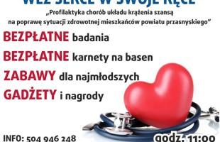 Zapraszamy na piknik medyczny w Węgrze