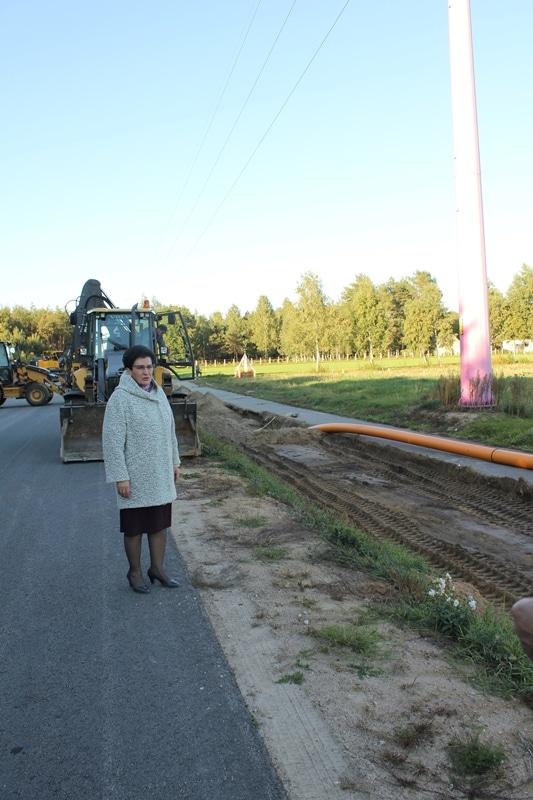 Budowa gazociągu ma terenie powiatu przasnyskiego - gazociąg już na terenie gminy Przasnsyz -