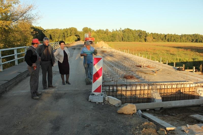 Starostwo przebudowuje most w Dobrzankowie