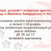 Biblioteka Pedagogiczna w Przasnyszu:Mikołaje, gwiazdki i świąteczne opowiastki