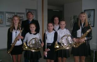Zapraszamy na przesłuchania  sprawdzające predyspozycje do nauki w szkole muzycznej!