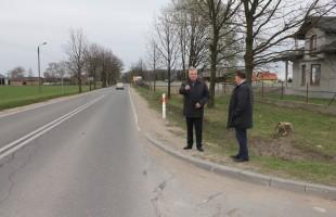 Nowa droga jednak będzie - od ul.Żwirki i Wigury w Przasnyszu do skrzyżowania w Zawadkach