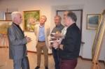 Wernisaż wystawy malarstwa Franciszka Ryszarda Mazurka