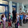Przedszkolaki z wizytą u policjantów.