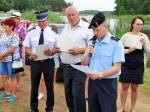 OSP Romany-Sebory zwycięską jednostką zawodów nad zalewem w Łojach