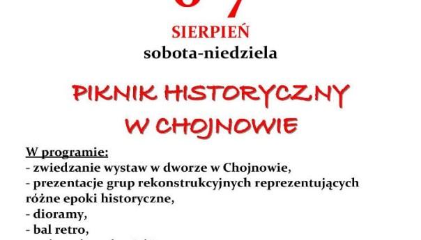 Zapraszamy na Piknik historyczny w Chojnowie