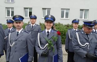 Obchody Święta Policji w Przasnyszu.