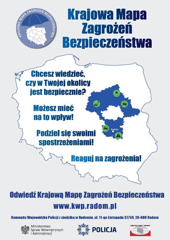 KWP Radom plakat